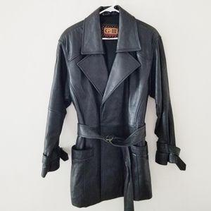 G 3 leather coat
